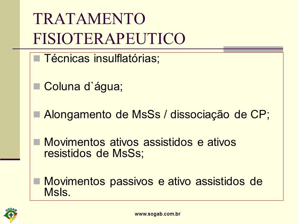 TRATAMENTO FISIOTERAPEUTICO