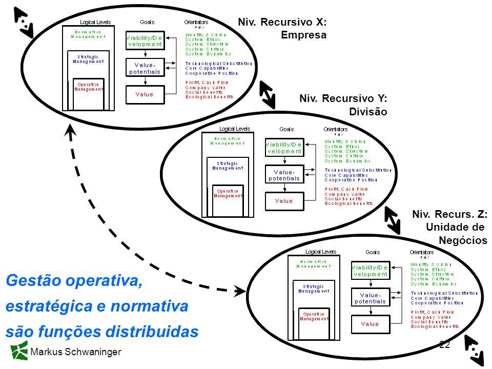 estratégica e normativa são funções distribuidas