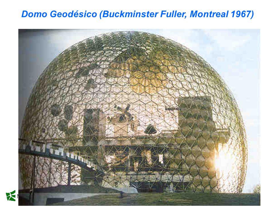 Domo Geodésico (Buckminster Fuller, Montreal 1967)