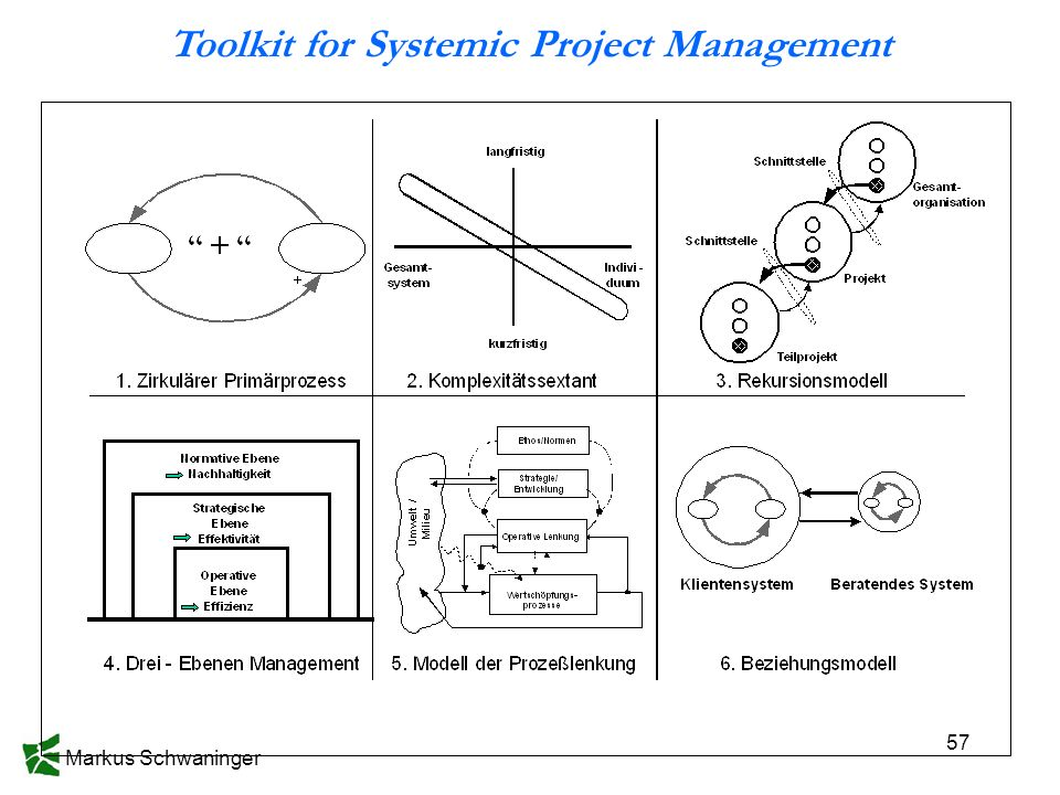 Toolkit for Systemic Project Management