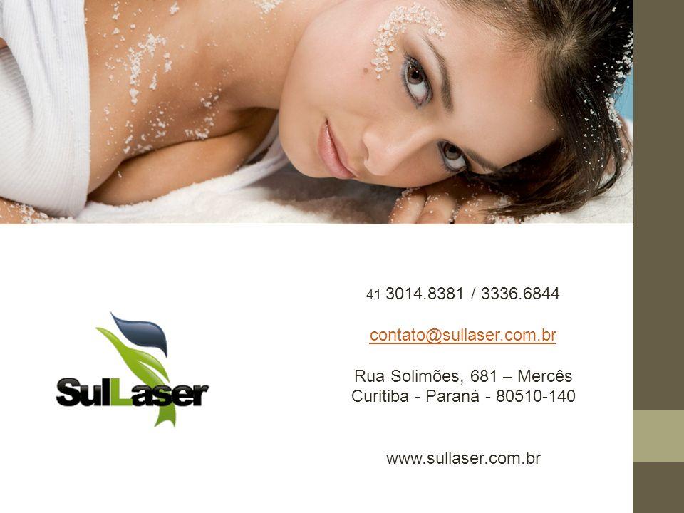 contato@sullaser.com.br Rua Solimões, 681 – Mercês