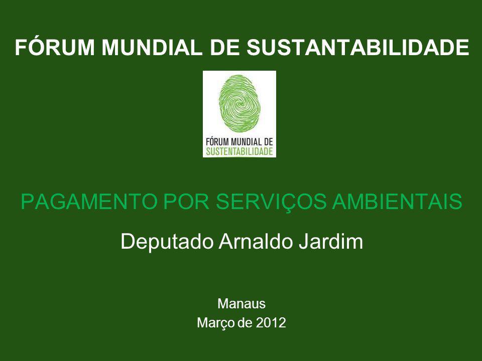 FÓRUM MUNDIAL DE SUSTANTABILIDADE