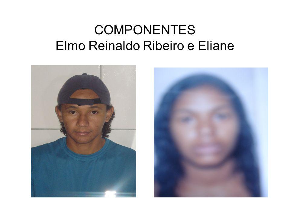 COMPONENTES Elmo Reinaldo Ribeiro e Eliane