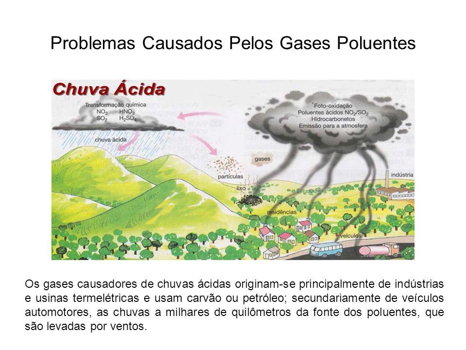 Problemas Causados Pelos Gases Poluentes