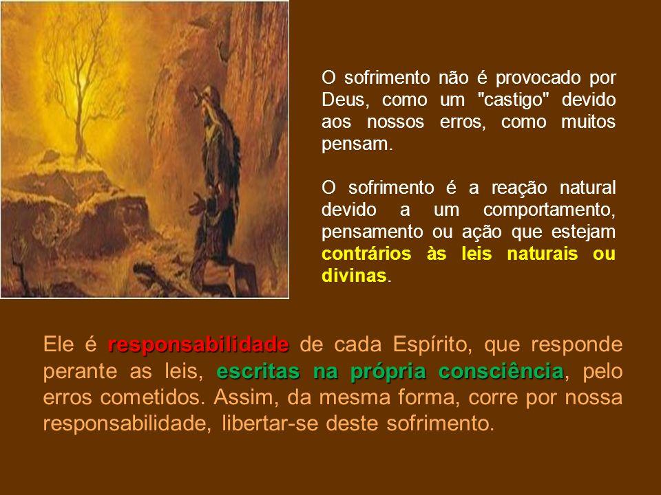 O sofrimento não é provocado por Deus, como um castigo devido aos nossos erros, como muitos pensam.
