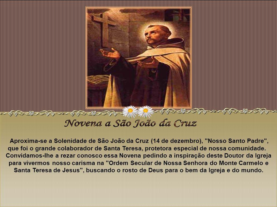 Novena a São João da Cruz