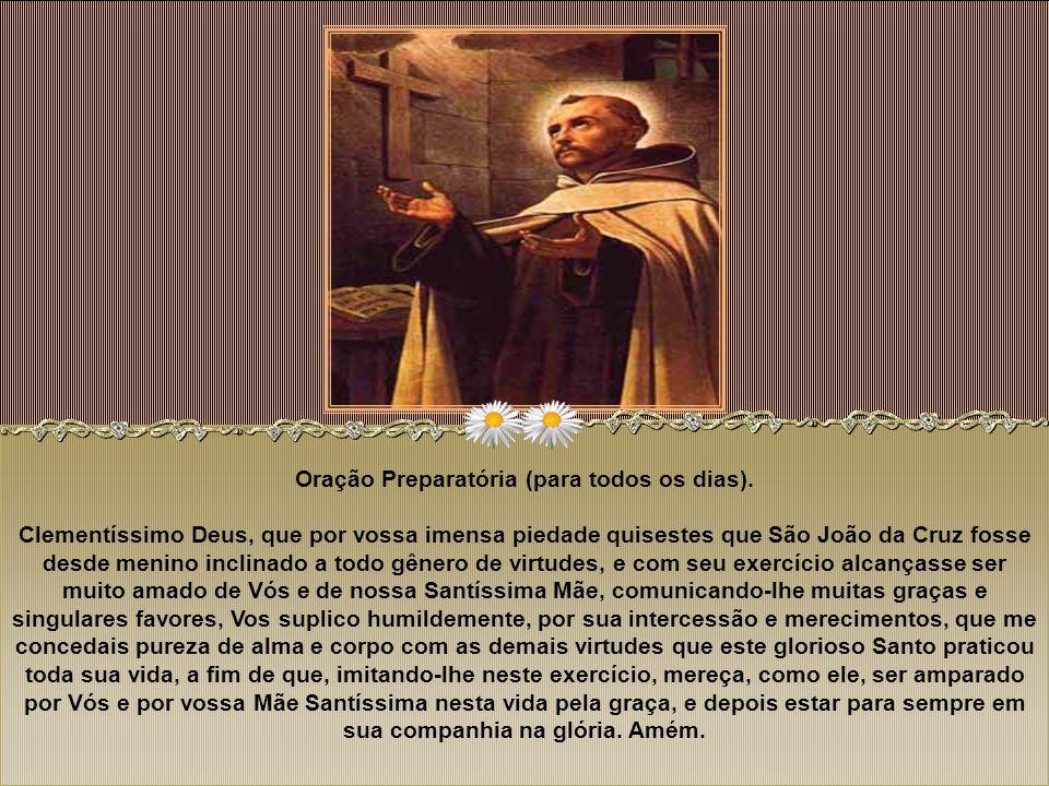 Oração Preparatória (para todos os dias)