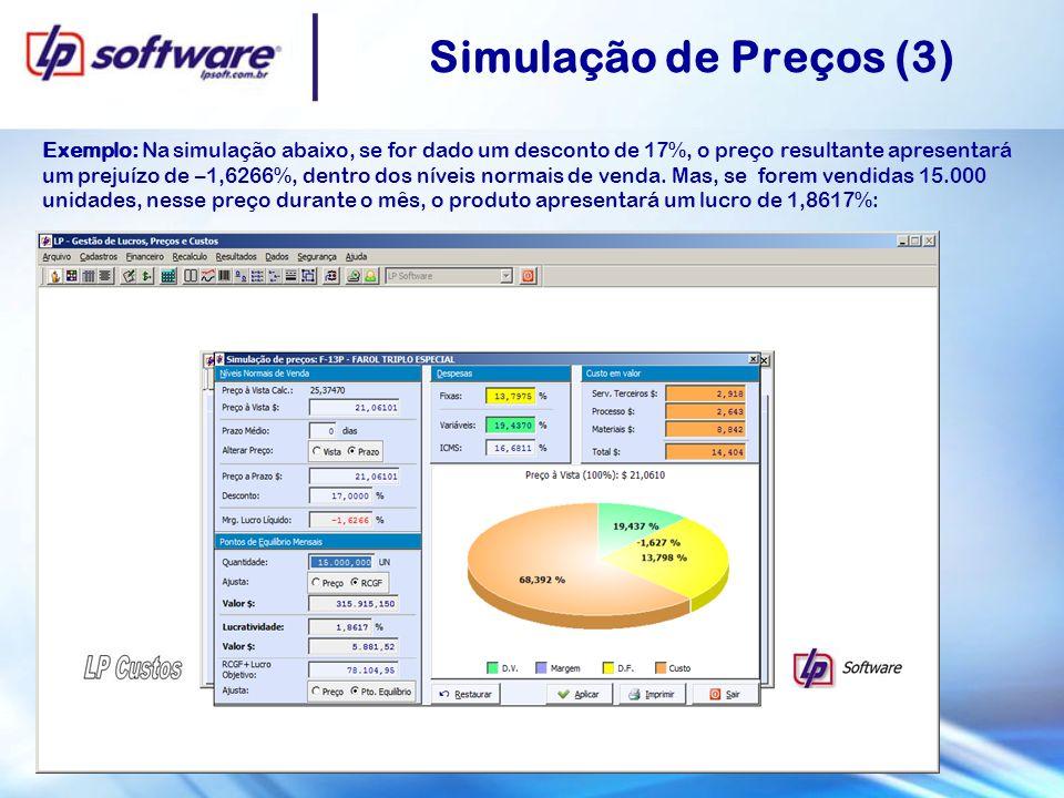 Simulação de Preços (3)