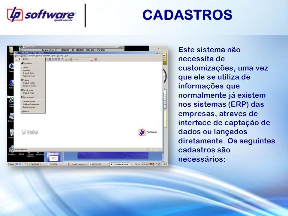 CADASTROS