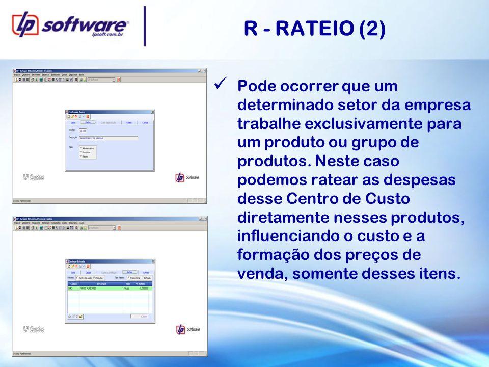R - RATEIO (2)