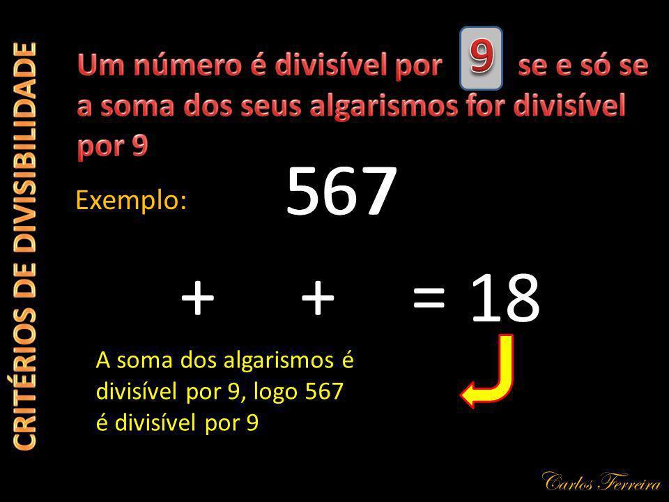CRITÉRIOS DE DIVISIBILIDADE