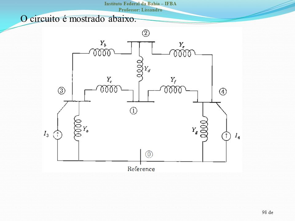 O circuito é mostrado abaixo.