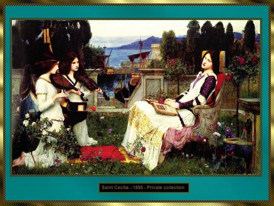 Saint Cecilia - 1895 - Private collection