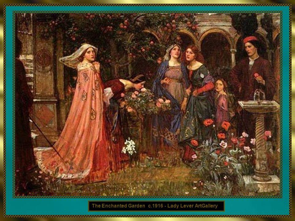 The Enchanted Garden c.1916 - Lady Lever ArtGallery