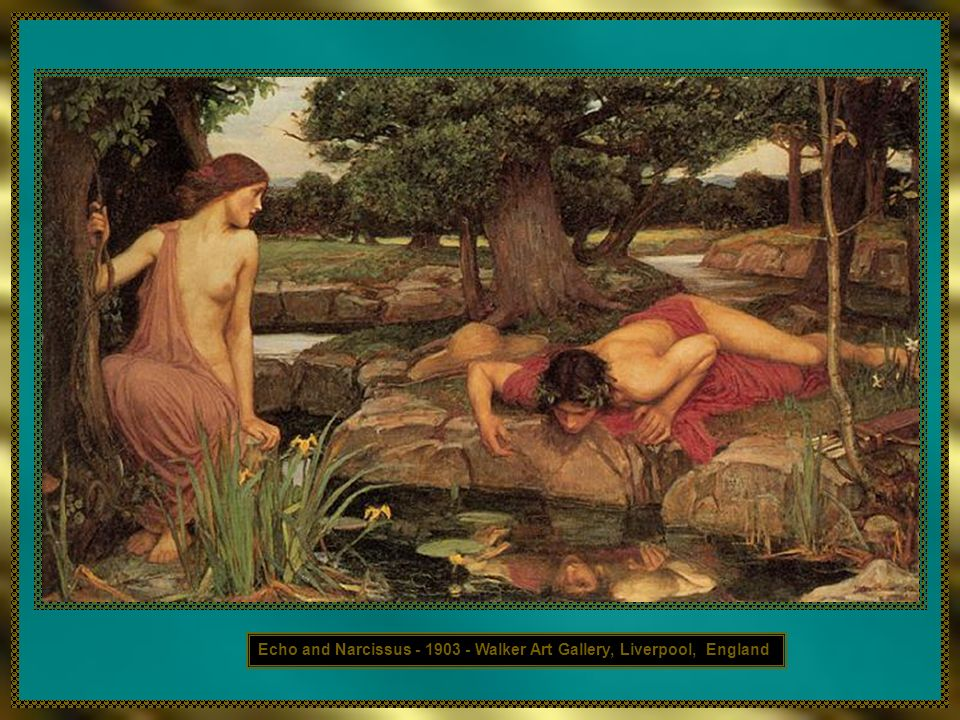 Echo and Narcissus - 1903 - Walker Art Gallery, Liverpool, England