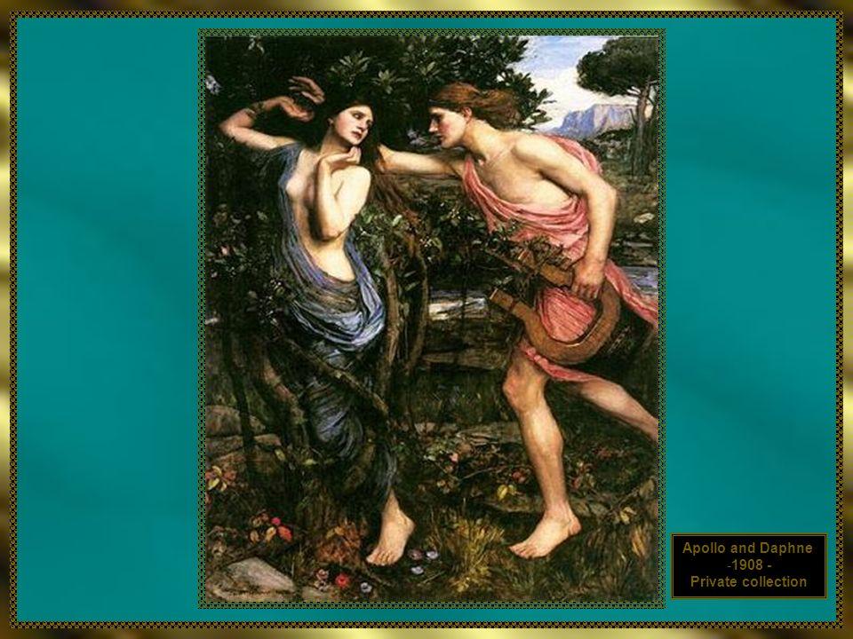 Apollo and Daphne 1908 - Private collection