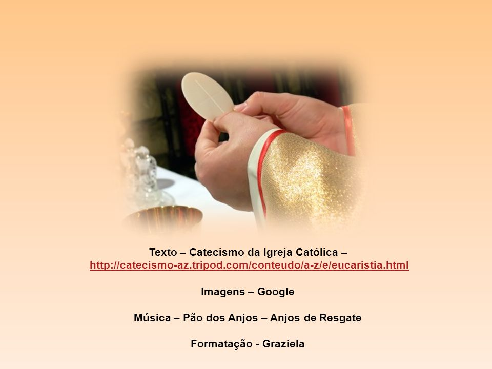 Texto – Catecismo da Igreja Católica –