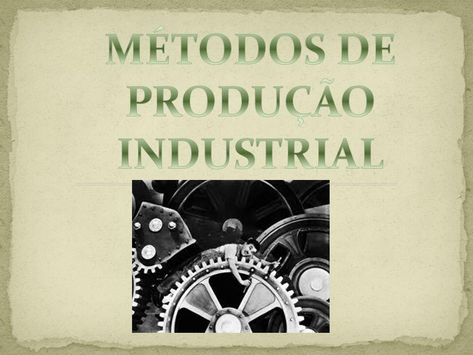 MÉTODOS DE PRODUÇÃO INDUSTRIAL