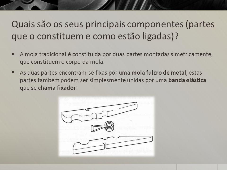 Quais são os seus principais componentes (partes que o constituem e como estão ligadas)