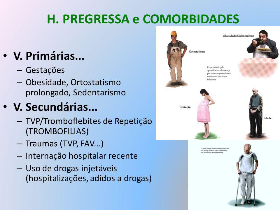 H. PREGRESSA e COMORBIDADES