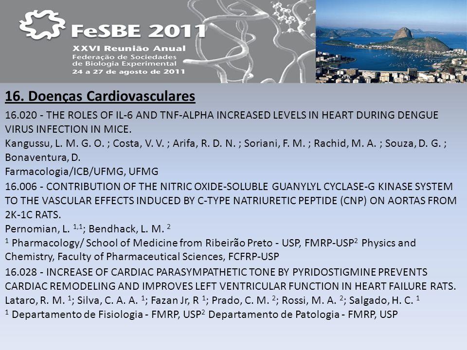 16. Doenças Cardiovasculares