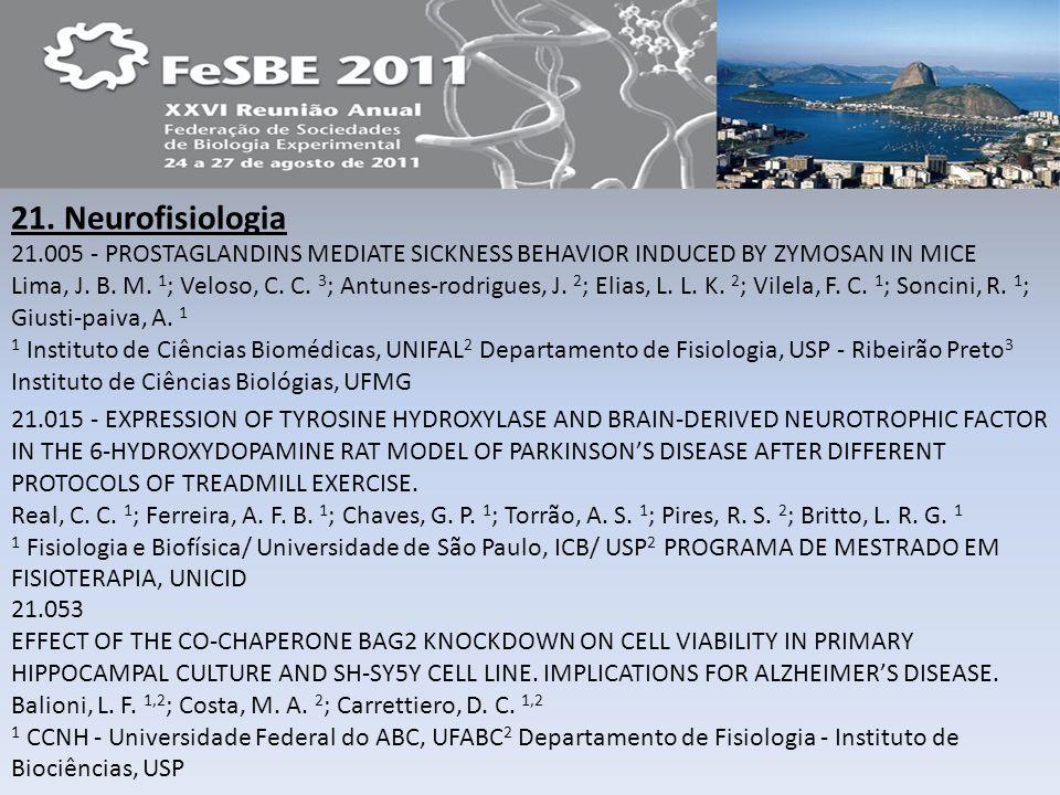 21. Neurofisiologia