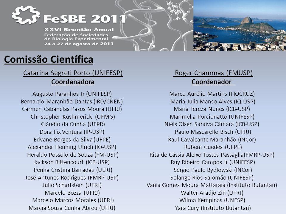 Catarina Segreti Porto (UNIFESP) Coordenadora Roger Chammas (FMUSP)