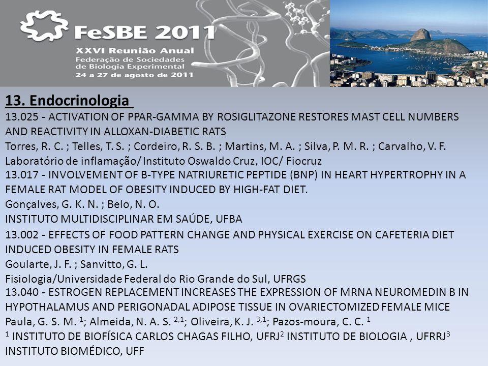 13. Endocrinologia