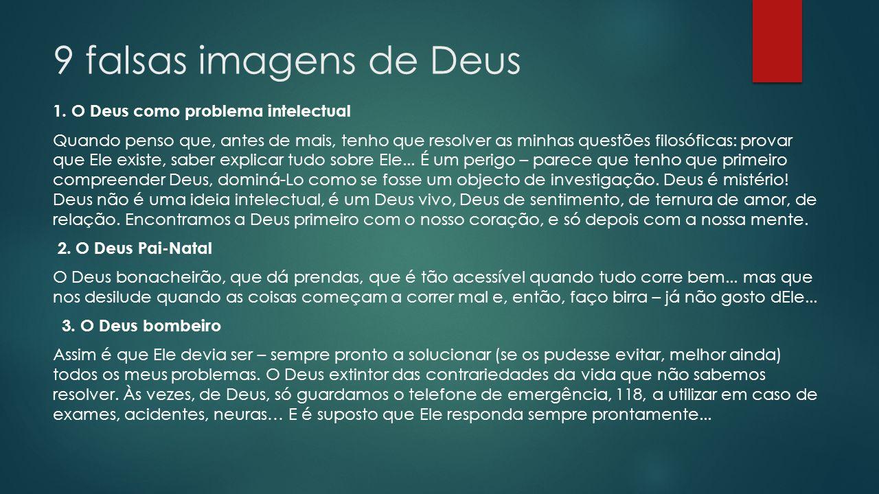 9 falsas imagens de Deus