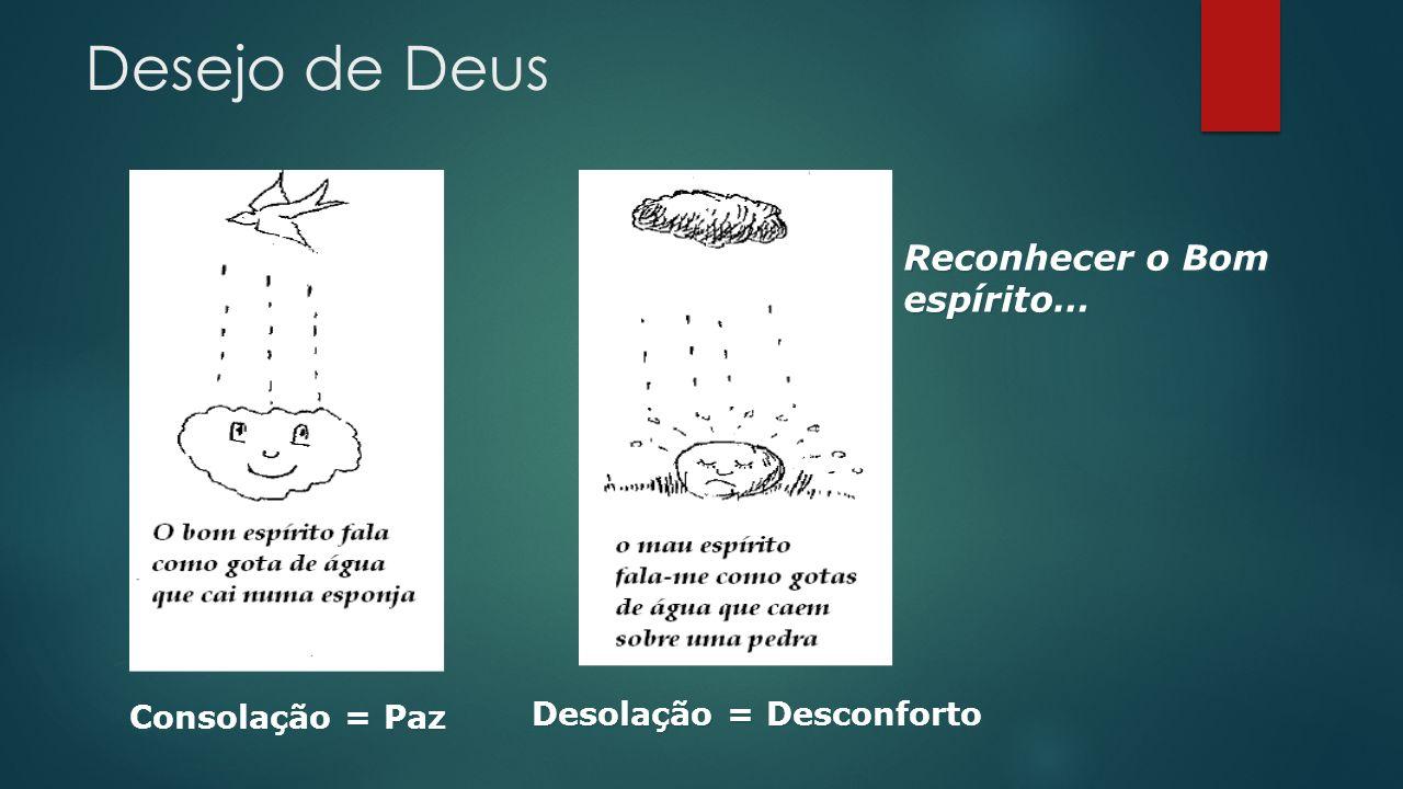 Desolação = Desconforto