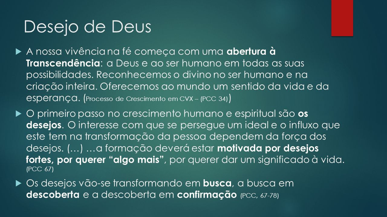 Desejo de Deus