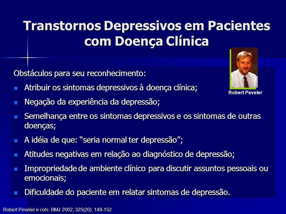 Transtornos Depressivos em Pacientes com Doença Clínica
