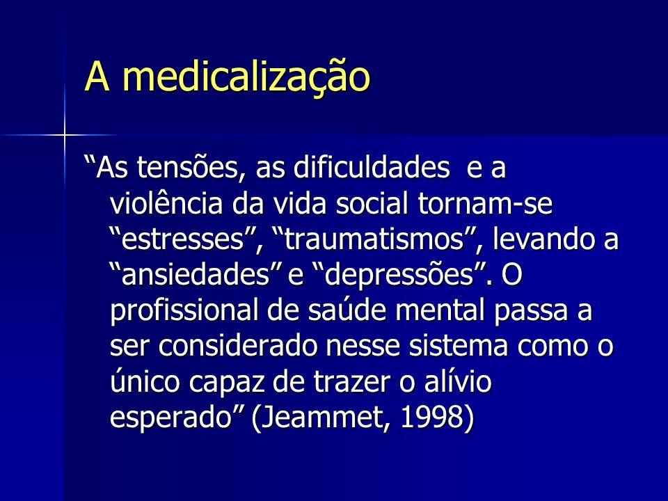 A medicalização