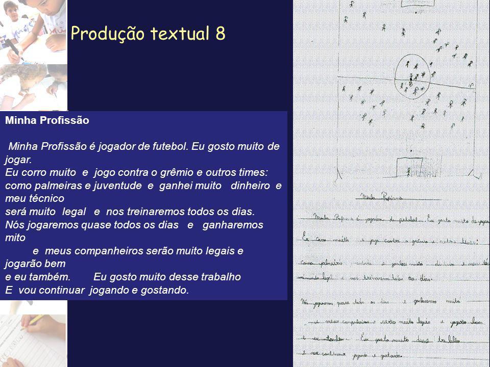 Produção textual 8 Minha Profissão