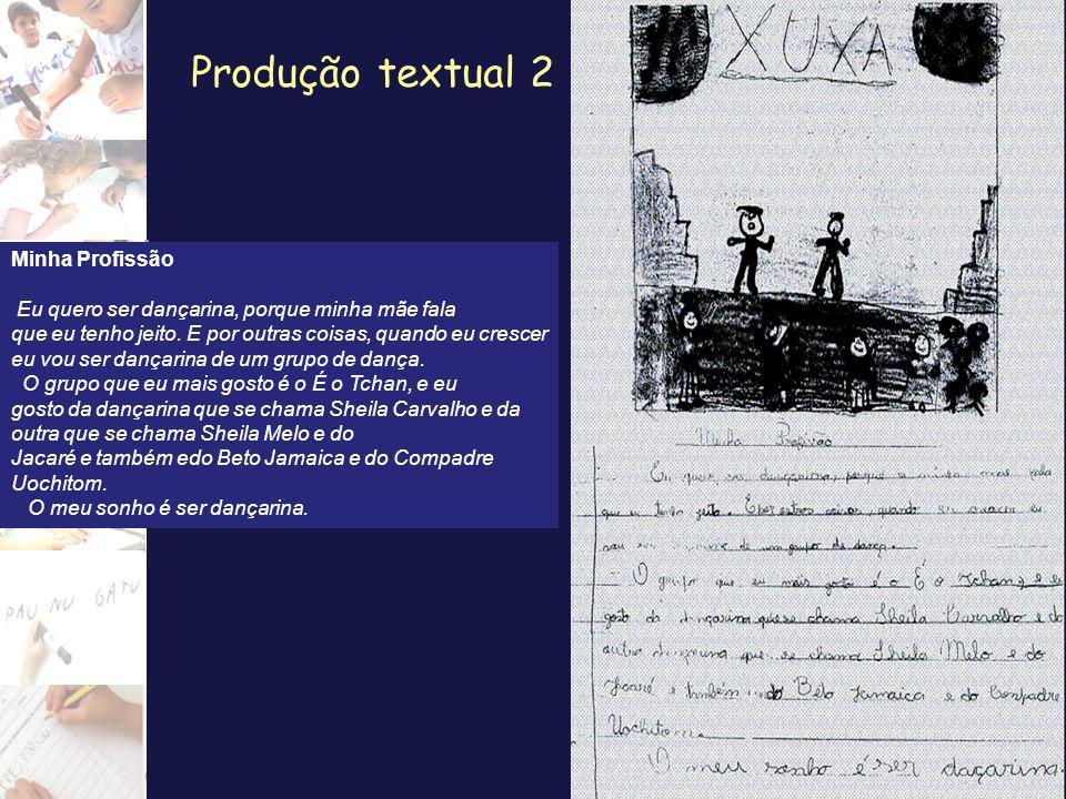 Produção textual 2 Minha Profissão