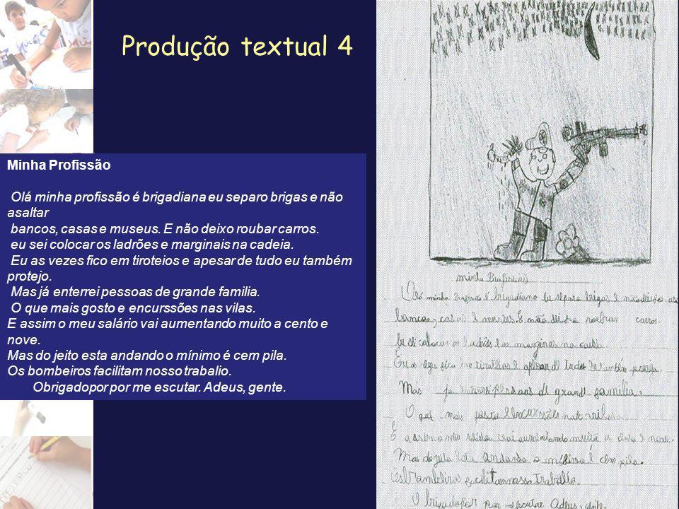 Produção textual 4 Minha Profissão