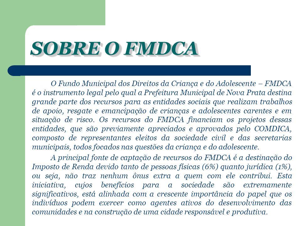 SOBRE O FMDCA