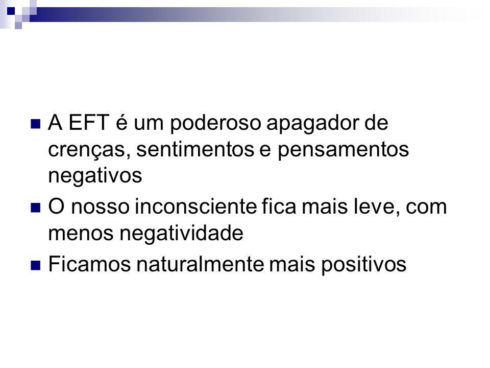 A EFT é um poderoso apagador de crenças, sentimentos e pensamentos negativos