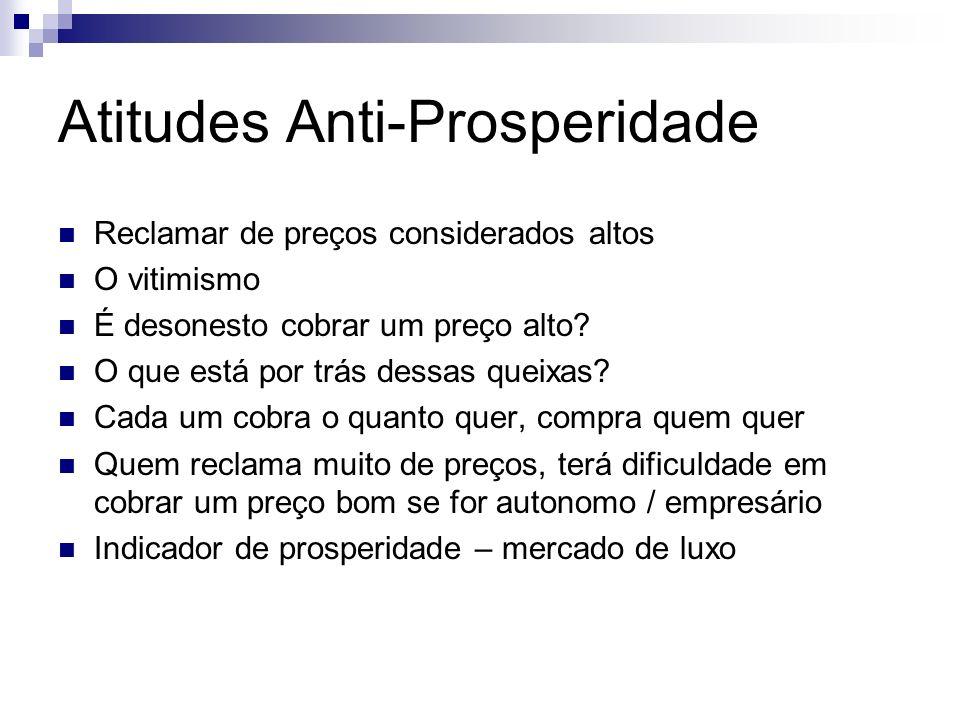Atitudes Anti-Prosperidade
