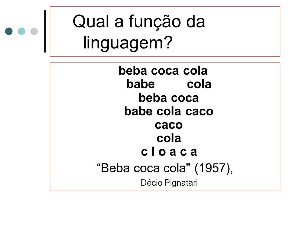Qual a função da linguagem