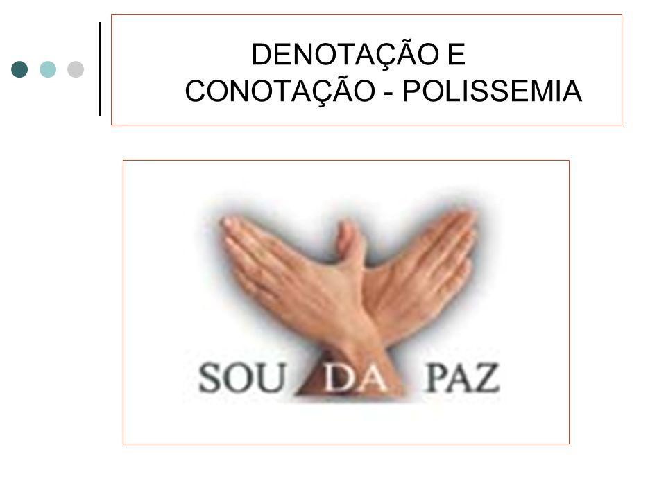 DENOTAÇÃO E CONOTAÇÃO - POLISSEMIA