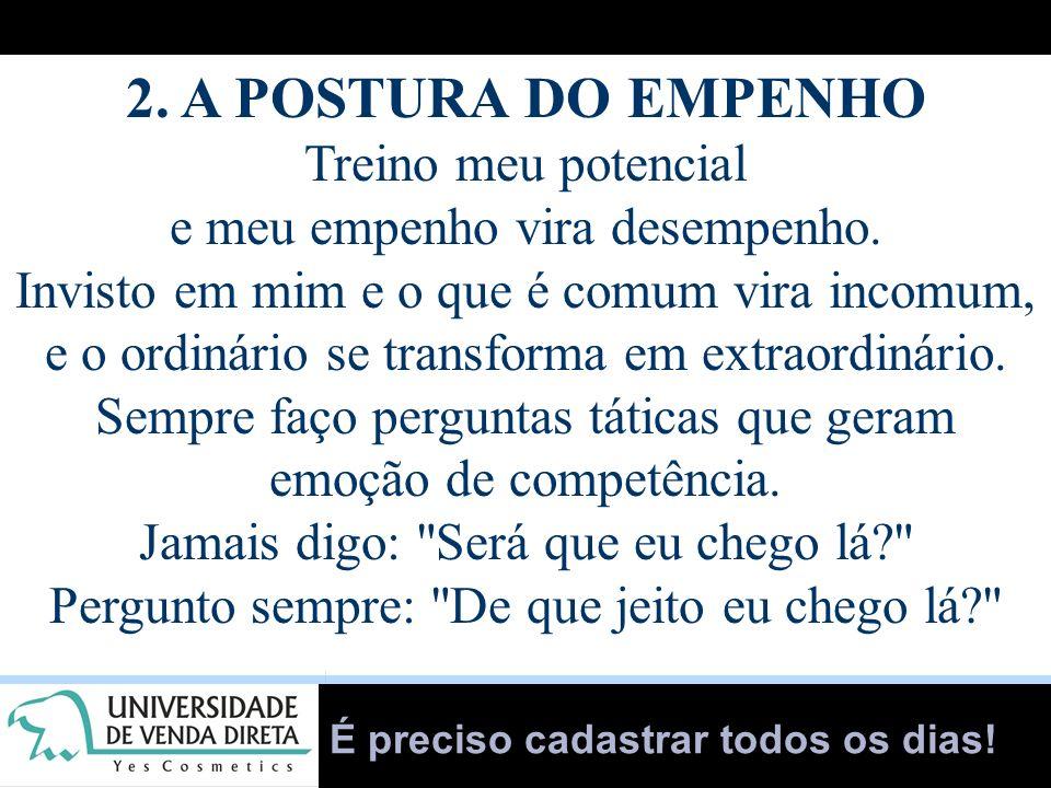 2. A POSTURA DO EMPENHO