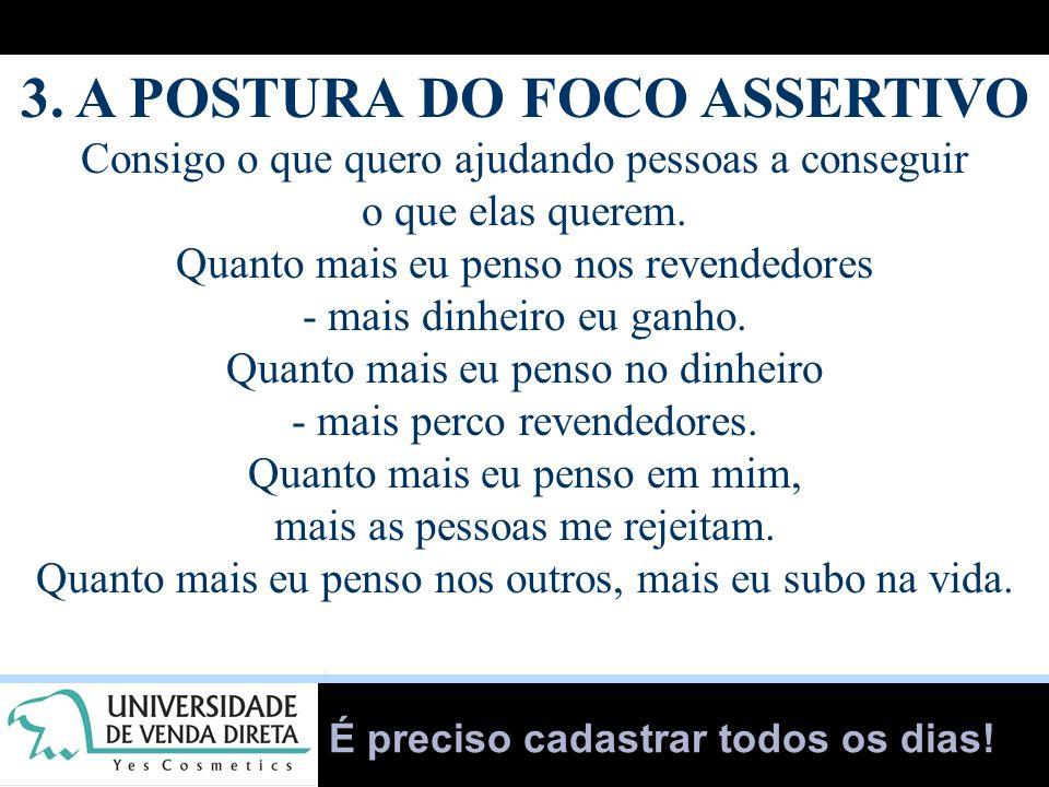 3. A POSTURA DO FOCO ASSERTIVO