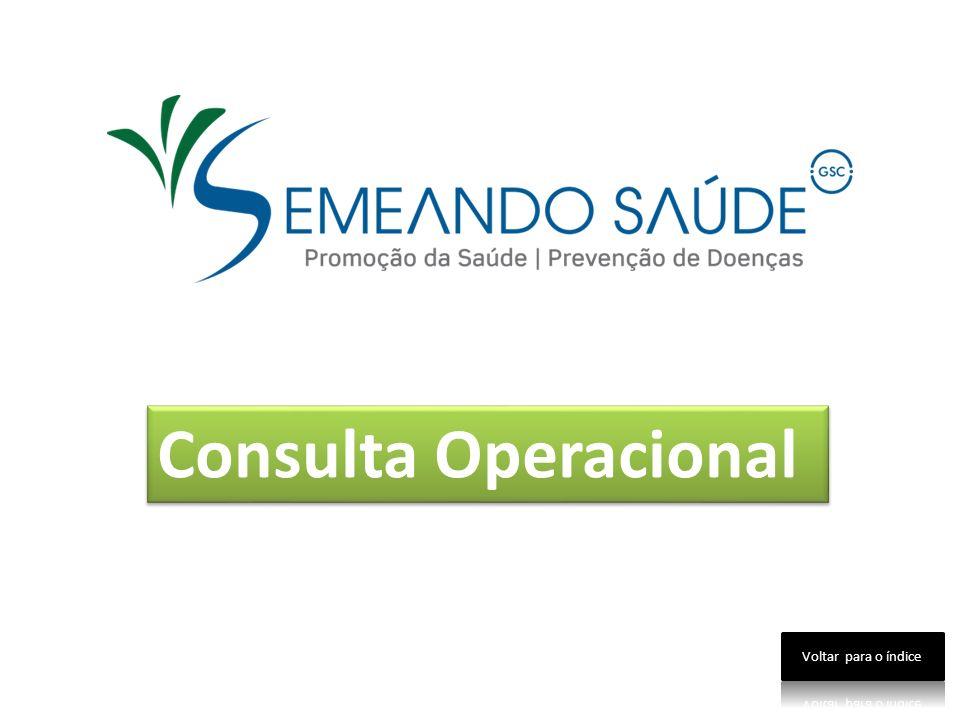Consulta Operacional Voltar para o índice