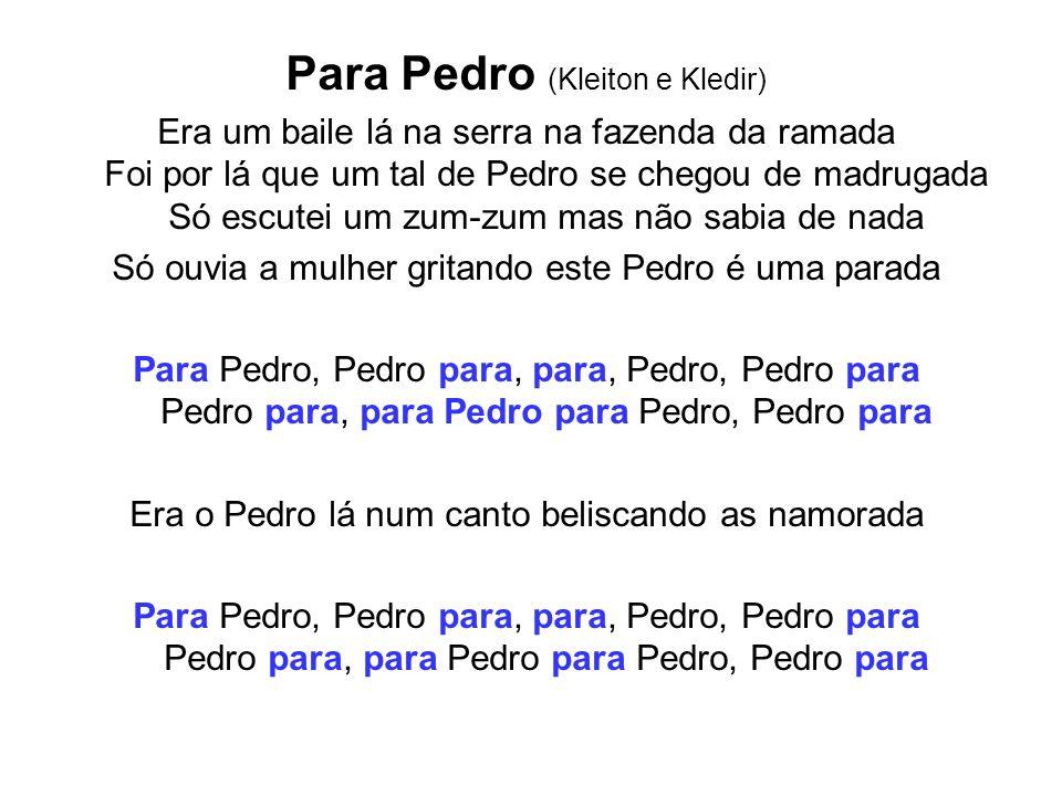 Para Pedro (Kleiton e Kledir)