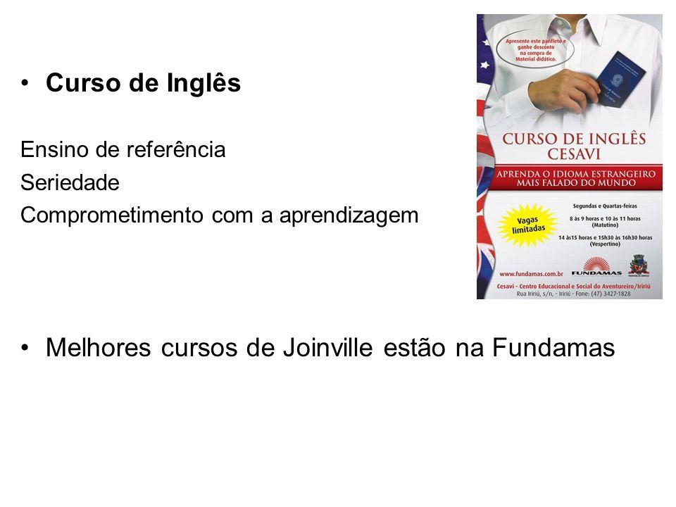 Melhores cursos de Joinville estão na Fundamas
