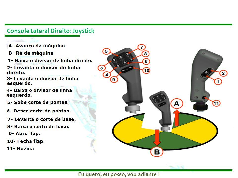 Console Lateral Direito: Joystick