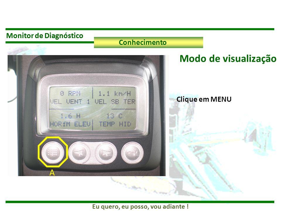 Modo de visualização A Monitor de Diagnóstico Monitor de Diagnóstico