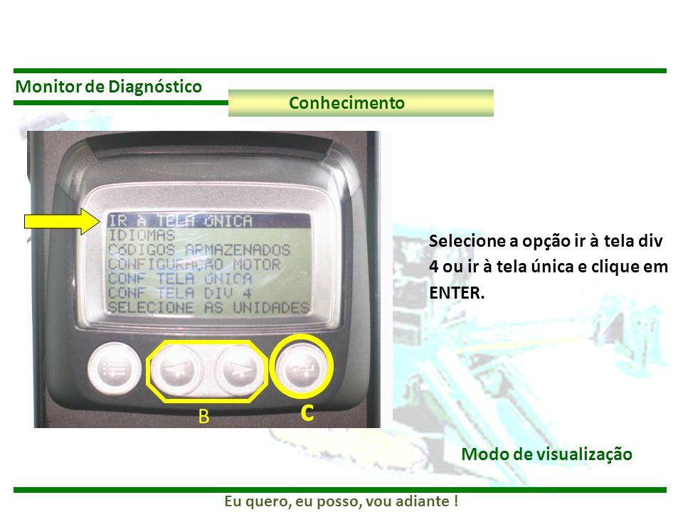 c B Monitor de Diagnóstico Conhecimento