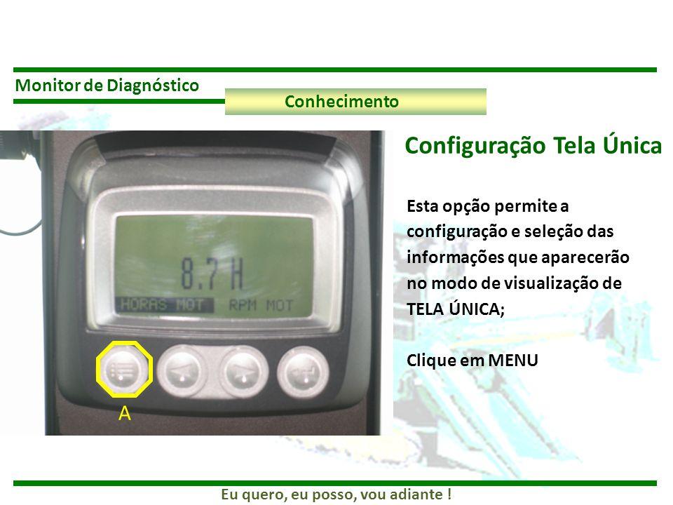 Configuração Tela Única